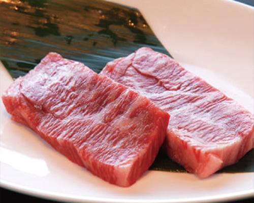 国産牛のロース肉