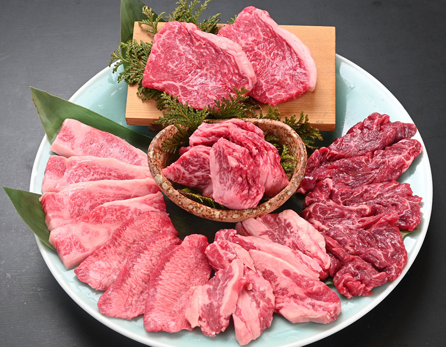 国産牛希少部位も味わえる食べ放題コース